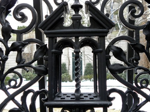 Iron work at the Frick Collection by Rev Stan on Flickr